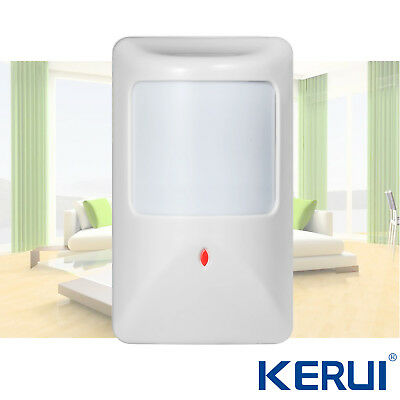 Wired PIR Detector Motion Sensor For Home House Burglar Securtity Alarm System