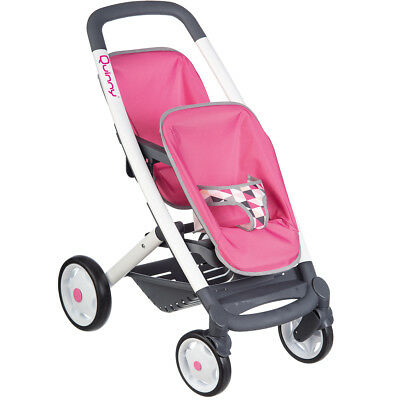 Quinny Zwillings Puppen Baby Kinder Sport Wagen Buggy Jogger Puppenzubehör Puppe