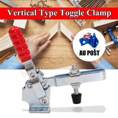 1-8PCS LOT 227KG Holding Capacity Quick Release Vertical Type 12132 Toggle Clamp