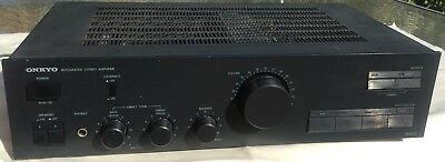 Vintage Onkyo Integrated Stereo Amplifier #a-8027. Fully Serviced By Pro Tech!
