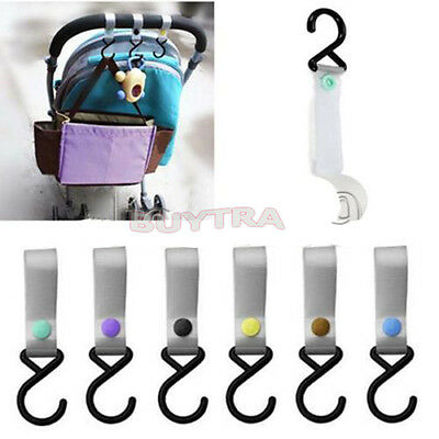 SE  Fine Baby Infant Pushchair Stroller Pram Tape Strap Hook Hanger NTPD