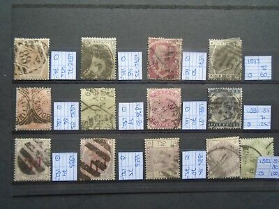 Classic Lot Pre 1900 Victoria Gb Uk Great Britain Vf Used B49.5 Start  0.99$
