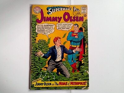 Superman's pal Jimmy Olsen issue 108 Nice comic however rusty stables