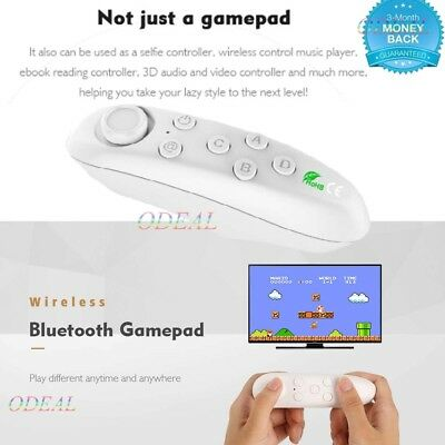 Bluetooth Gamepad Remote Game Controller Wireless Mouse For VR BOX Android iOS