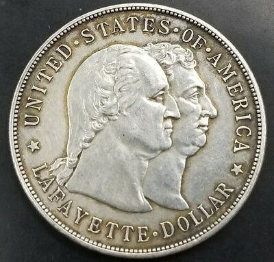 1900 Lafayette Silver Commemorative Dollar **Great Condition** US Coins [AK8493]