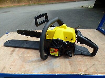"""A VERY GOOD McCULLOCH MAC CAT 435 PETROL CHAINSAW WITH 14"""" ARBOR. * CLEANED *"""