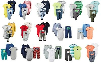 NEW NWT Boys Carters 3 Piece Sets Newborn 3 6 9 12 Months You Choose Mommy Daddy