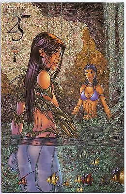 Witchblade #25 Speckle Holofoil Variant NM 9.4 (1998)