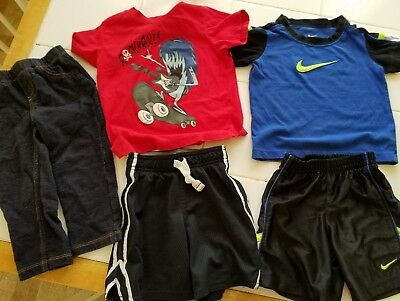 Lot of boys clothes, size 2T,  Nike