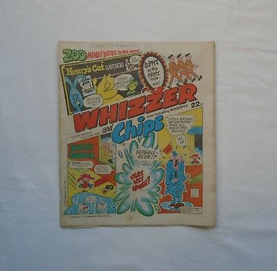 Whizzer and Chips Comic now including Whoopee 22nd June 1985