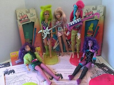 Truly Outrageous Jem Dolls and Stuff for the Jem and the Holograms Collector