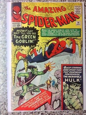 AMAZING SPIDER-MAN 14 GREEN GOBLIN 1st Appearance HULK Appears