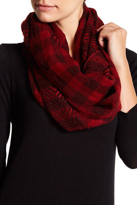 a90db7907 Nordstrom Rack Womens Infinity Scarf Red Plaid Check Sold Out!14th & Union