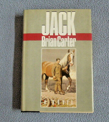 """Hardcover Book ~ """"JACK"""" by Brian Carter ~ First American Edition ~ Horses Equine"""
