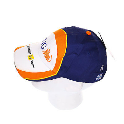 Official Merchandise Renault Formula One ING F1 Baseball Cap White (3/4)