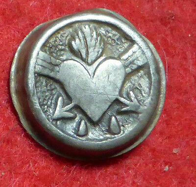 Silver Tudor Button
