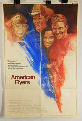 L002373 American Flyers / Vintage Movie Poster Restoration Project / 40 x 26