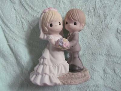Precious Moments Two Lives One Love Wedding Figurine