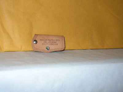 Piehler Pontiac Rochester Ny Vintage Leather Key Holder  Unused