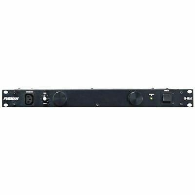 Furman Merit M-10LX E Power Conditioner w/6 x IEC to Mains Female Socket Cables