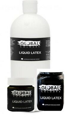 Global Liquid Latex all three sizes to choose from, CHEAPEST too,& free freight