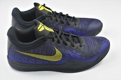 5810bd9f44c Nike Mamba Rage Mens Size 10 Shoes Kobe Bryant 908972 024 Purple Yellow