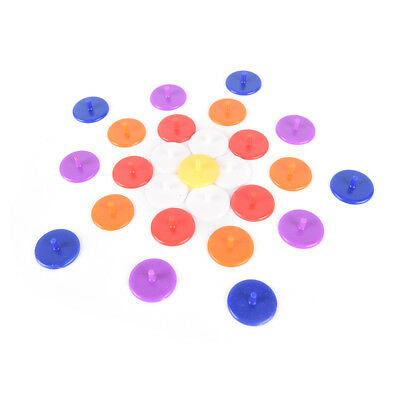 50X Plastic Golf Ball mark Position Markers Diameter 24mm Golf Accessorie NTPD