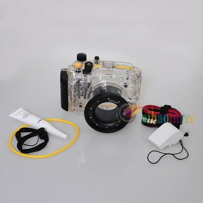 Meikon 40M 130ft Waterproof Diving Housing Case Cover For Sony RX100 Camera【AU】