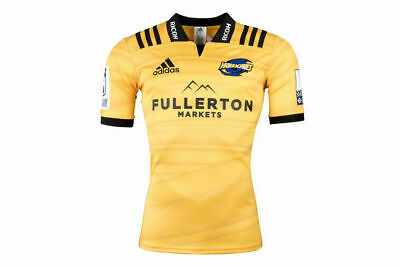 Hurricanes 2018 Adidas Super Rugby Home Jersey Sizes S-3XL!
