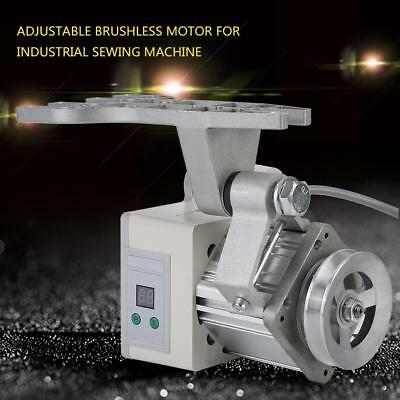 220V 400W 4500RPM Ajustable Brushless Motor para Coser Sewing Máquina + Pedal