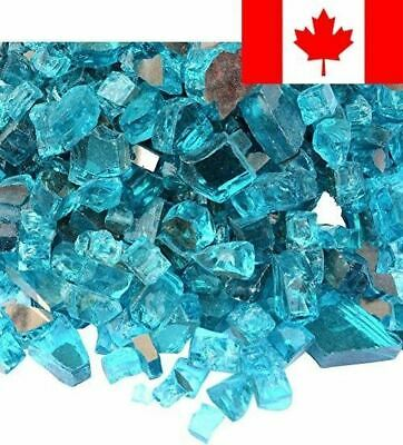 Onlyfire Fire Glass for Natural or Propane Fire Pit, Fireplace, or Gas Log Se...