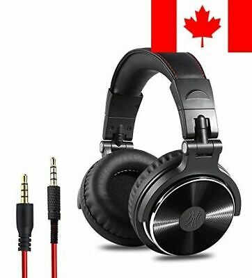 OneOdio Adapter-free Closed Back Over-Ear DJ Stereo Monitor Headphones, Profe...
