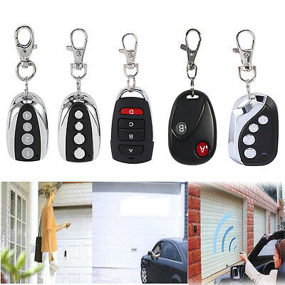 Universal 433.92Mhz Wireless Transmitter Gate Opener Cloning Remote Control Key