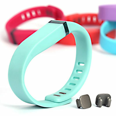 Fitbit Flex Small/Large Sport Band Replacement Wrist Bands With Clasps Wristband