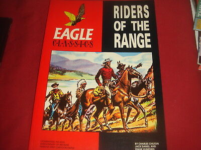 EAGLE CLASSICS - RIDERS OF THE RANGE Hawk Books Large Album  Graphic Novel