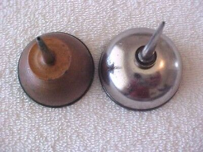 Miniature Oil Cans- Lot Of 2- One Is Eagle Brand