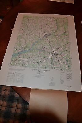 1940's Army topographic map Seaford  Delaware-Sheet 5861 II