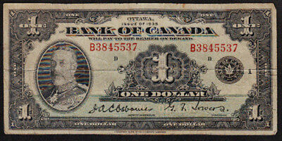 1935 $1 Bank of Canada Note BC-1