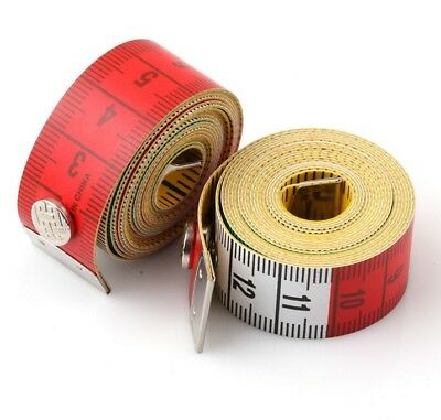 Hot sale! Multi-color Soft Measuring Tapes Sewing Rulers 60 Inch/150cm