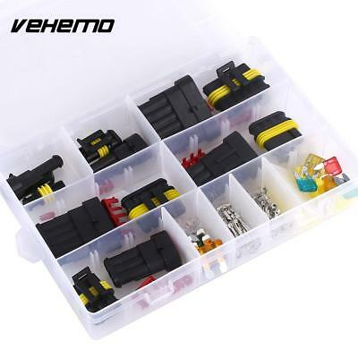 Waterproof Electrical Connector Kit - 1 2 3 4 5 6 Way - With Box  120 Pieces