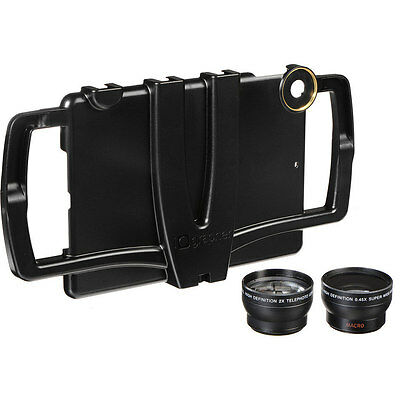 iOgrapher - Filmmaking Case for iPad mini Telephoto and Macro Lenses - New Other