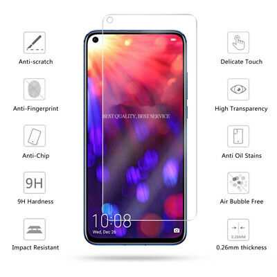 For Huawei P20 lite / P20 Pro / P20 Tempered Glass Film Screen Protector + Case