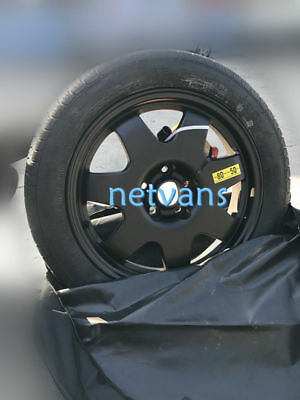 Spare Wheel Spare 17 Alloy For Fiat Typ From 12/2015 With Car Jack Key Bag