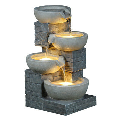 Charles Bentley 4 Tier Cascading Water Feature