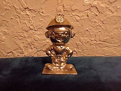 Phillips 66 Mascot Figurine silver Color Employee Gift / Paper Weight / Trophy