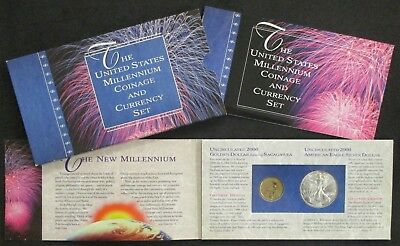 United States Millennium Coin and Currency Set-Uncirculated