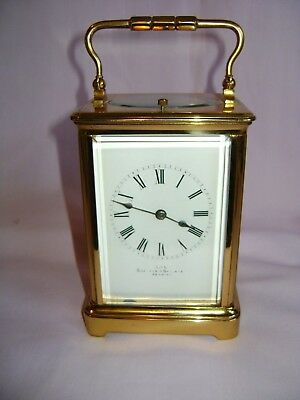 Antique French Repeater Carriage Clock In Good Working Order  + Key
