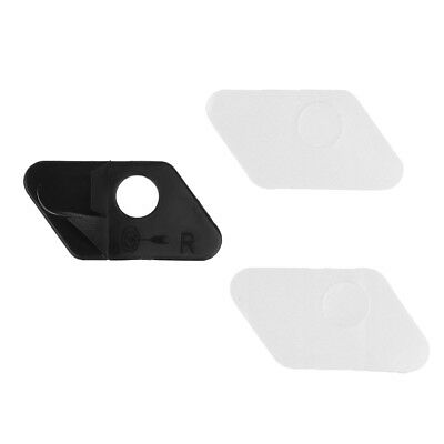 Recurve Bow Adhesive Right Hand Arrow Rest Hunting Archery Black