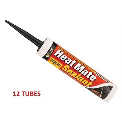 Everbuild Heatmate High Temperature Sealant Red C3 - 1 Cartridge - New