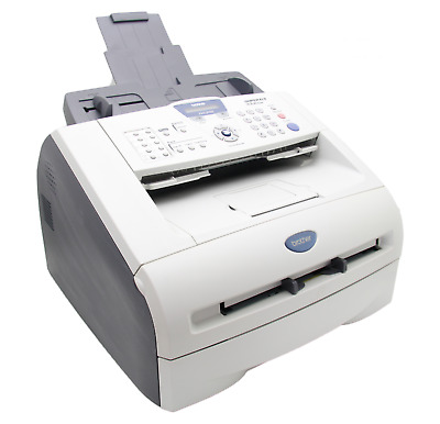 100% Working Fax Copier Printer Brother Fax-2920 New Toner And Trommel!
